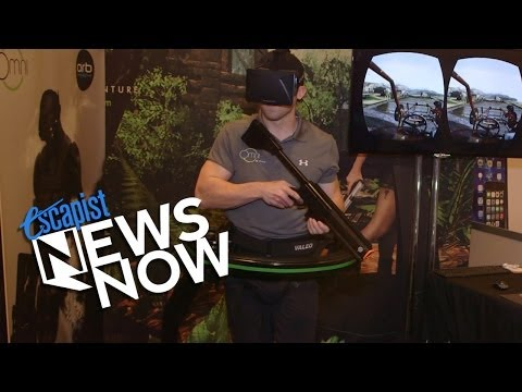 OMNI VIRTUAL REALITY GAMING - CES 2014 (Escapist News Now)