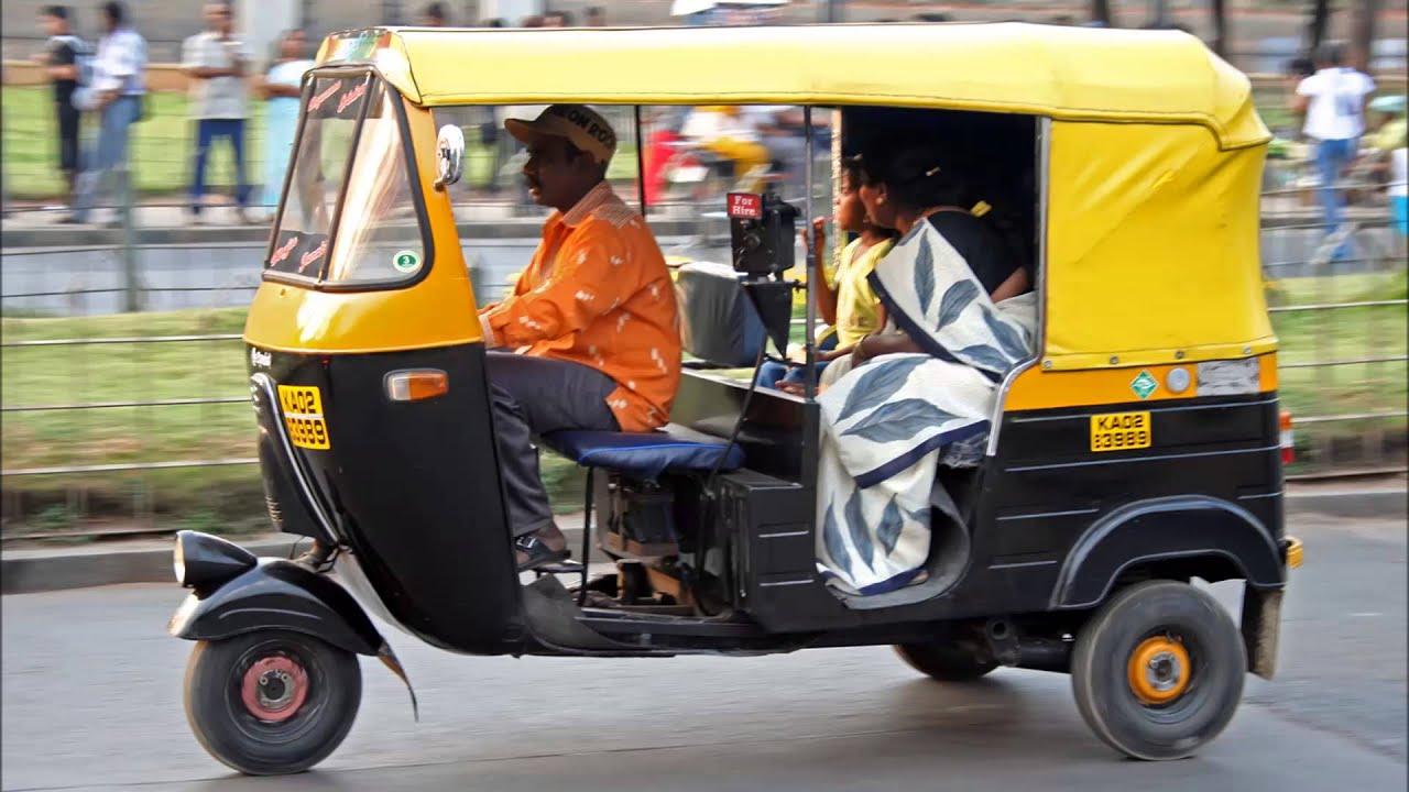 India Transport Auto Rickshaw - YouTube