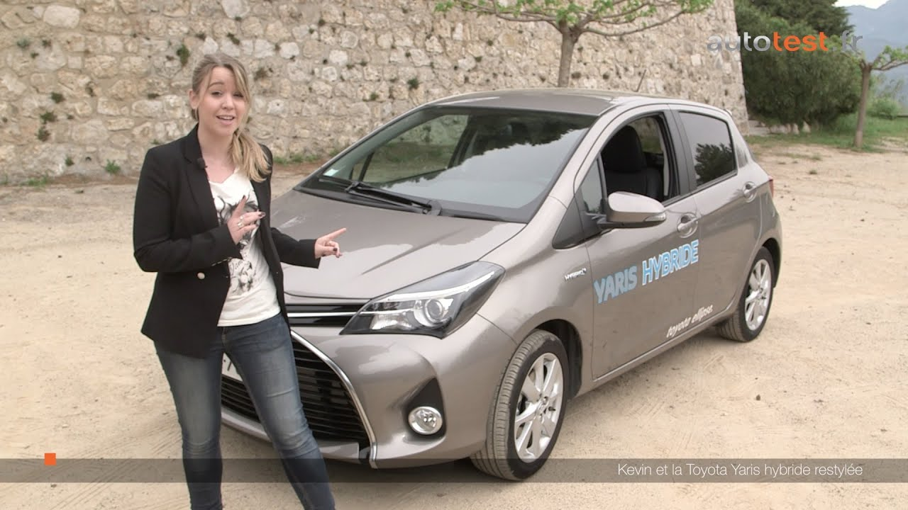 essai auto la toyota yaris hybride 2015 le test de kevin youtube. Black Bedroom Furniture Sets. Home Design Ideas