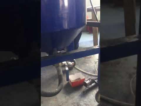 Mixing plant,epoxy resin mixing device