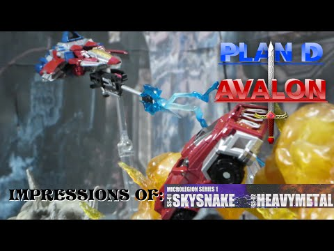 Power Hungry - PDA Impressions of Shapefhift Inc Sky Snake And Heavy Metal (Starscream and Ironhide)