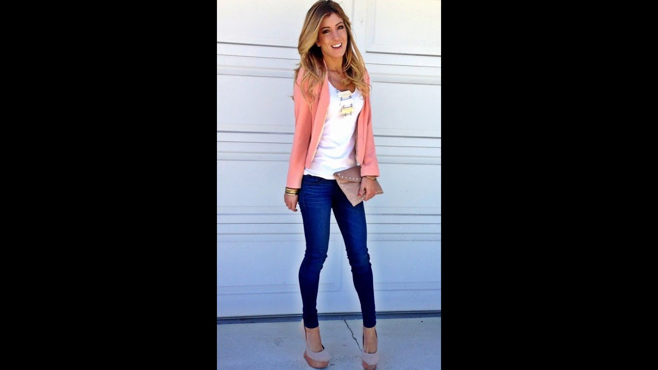 Outfit con Jeans |u2665| - YouTube