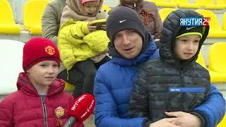 Победителей чемпионата республики по футболу определили в Якутске