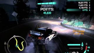 Need for Speed Carbon flawless Gold Valley Run canyon drift