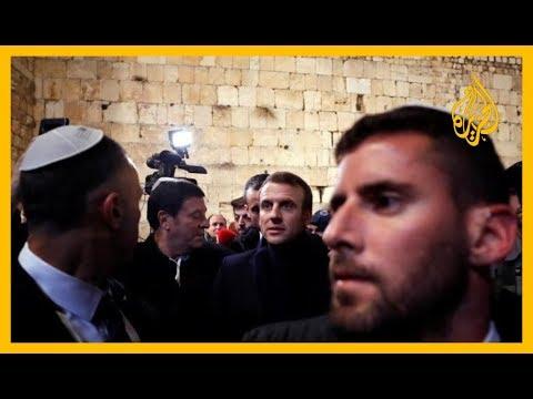 ???? #ماكرون يعنف شرطيا إسرائيليا.. صورة الأسبوع في -سباق الأخبار-  - نشر قبل 8 ساعة