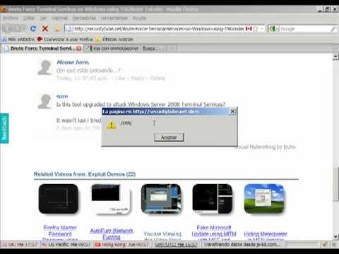 Xss on SecurityTube.net