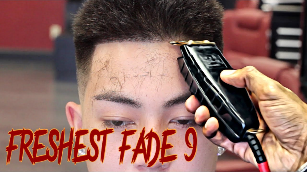 How To Cut A Fade Step By Step Tutorial Hd Youtube