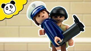 PLAYMOBIL Polizei Film - Karlchen Knack rettet Toni Räuberschreck! Playmobil Film