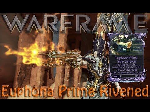 Warframe - Euphona Prime Rivened