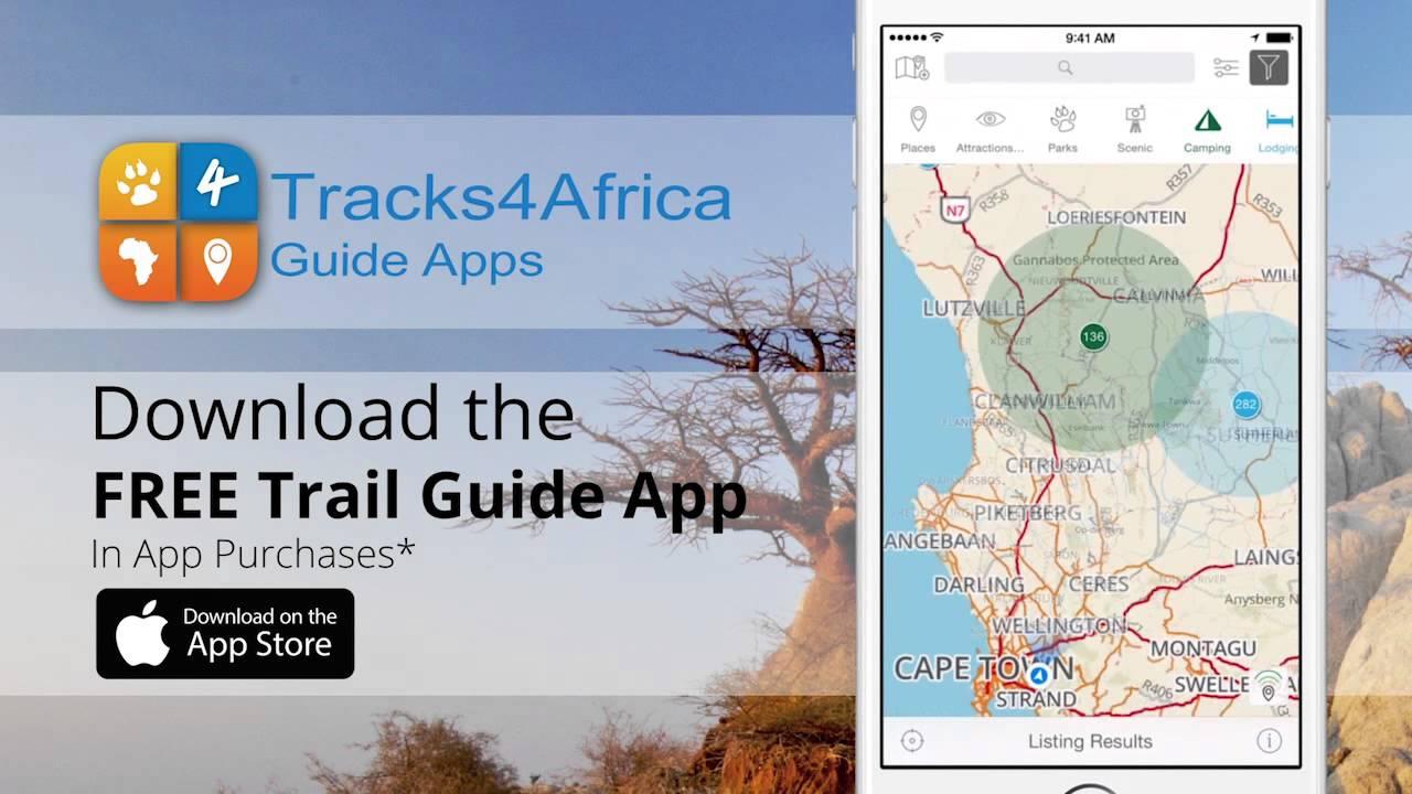 Tracks4Africa Guide App YouTube
