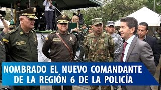 El General Humberto Guatibonza Carreño es el nuevo comandante de la Región Seis de la Policía