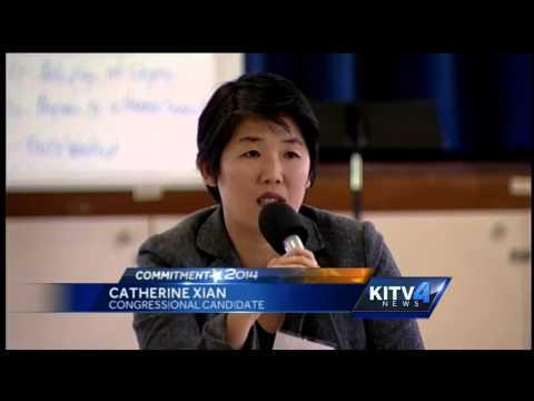 1st congressional seat candidates debate at forum