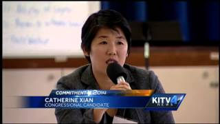 1st congressional seat candidates debate at forum