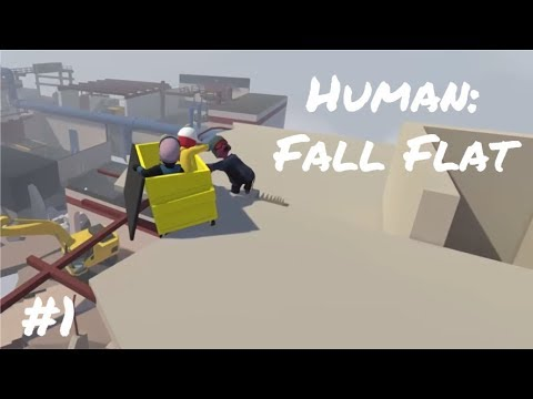 Human: Fall Flat | 3-Player Coop #1 - Snort