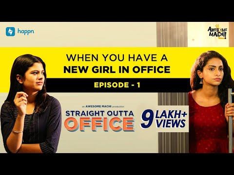 When you have a new girl in office   Episode 01   Awesome Machi   happn   English Subtitles