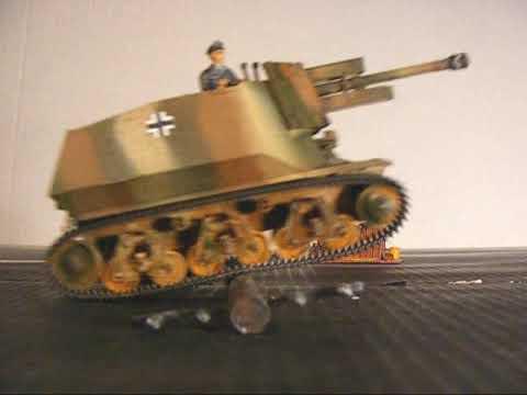 Befehls Panzer 38H & Geschutzwagen 10.5cm 39H in RC