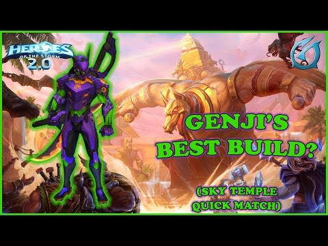 Grubby | Heroes of the Storm 2.0 - Genji's Best Build? - Sky Temple