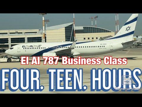 El Al 787 Business Class Review | 14 HOURS On A Plane! | Tel Aviv To Miami!