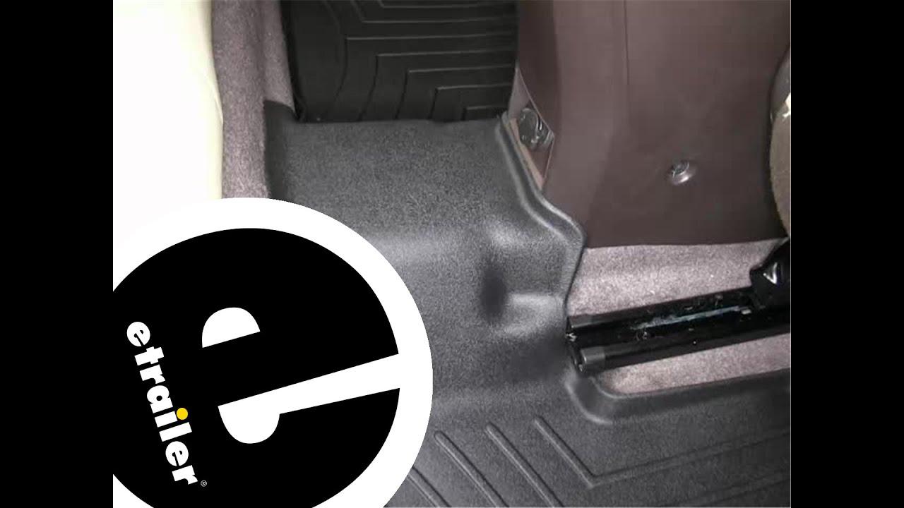 Weathertech floor mats tacoma - Review Of The Weathertech 2nd Row Rear Floor Mat On A 2012 Chevrolet Cruze Etrailer Com