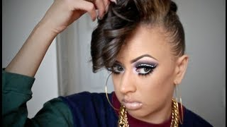 Hair & Smokey Makeup Tutorial Collab w GUATEMALANHOTMAMA1!