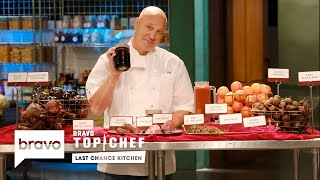 Two Chefs Have a Bloody Good Time Creating Bloody Good Dishes | Last Chance Kitchen (S18 E7)