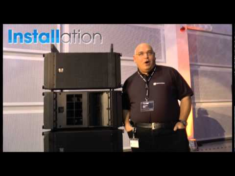 Installation - Electro-Voice X-Line Advance line array