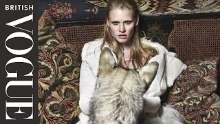 Kate Moss Directs Lara Stone | British Vogue