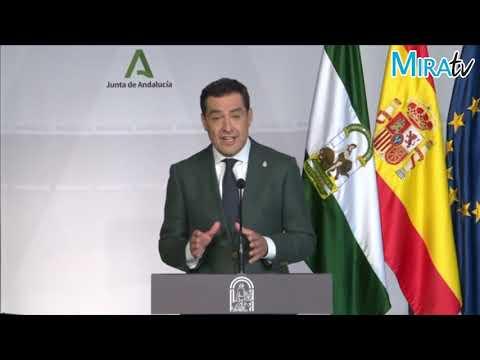 Juanma Moreno informa de las nuevas medidas Covid-19 en Andalucía
