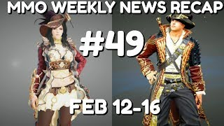 MMO Weekly News Recap #49   Feb 12-16