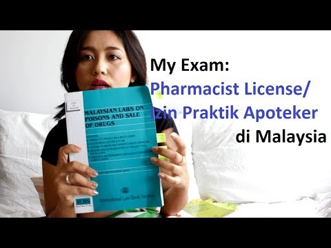 My Exam Pharmacist License/ Izin Praktik Apoteker di Malaysia | Nemenin anak main | Righaz Family