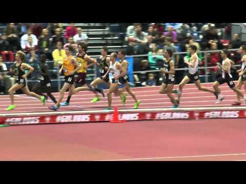 Jared Ward Indoor Nationals 2014 3000m