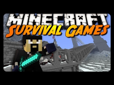 Minecraft: THE AVENGER!!! (Hunger Games Survival)