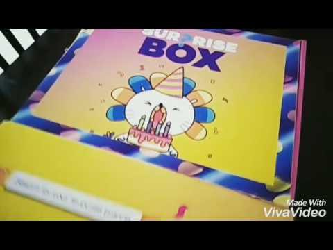 UNBOXING LAZADA Suprise Box Sempena 5th Birthday!