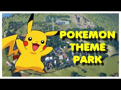 (Planet Coaster) Pokemon Theme Park!