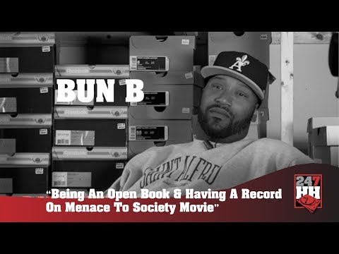 Bun B - Being An Open Book & Having A Record On Menace To Society Movie (247HH ARCHIVES)