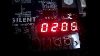 Digital Clock Using Vhdl Code
