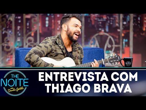 Entrevista com Thiago Brava | The Noite (15/08/18)