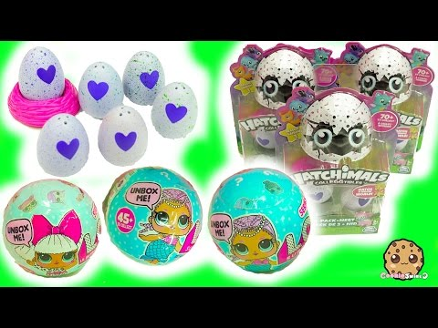 Hatchimals Eggs Hatching Surprise Blind Bag Baby Toys LOL 7 Layer Balls Cry? Color Change?