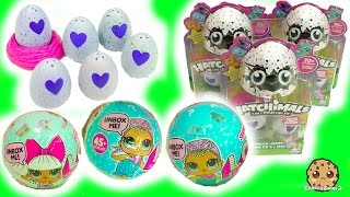 Hatchimals Hatching Surprise Blind Bag Baby Eggs & LOL 7 Layer Balls Cry? Color Change?