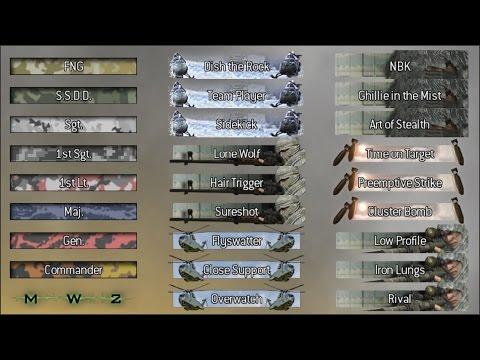 Как открыть все звания,эмблемы и т.д в СoD Modern Warfare 2 Multiplayer