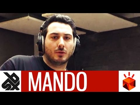 MANDO  |  Grand Beatbox Battle STUDIO SESSSION