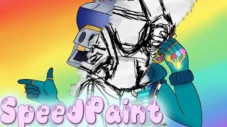 *NEW SERIES* Deadlox DJ Yonder Fortnite Skin Art Drawing 【SPEEDPAINT】