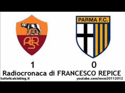 ROMA-PARMA 1-0 – Radiocronaca di Francesco Repice (19/2/2012) da Radiouno RAI