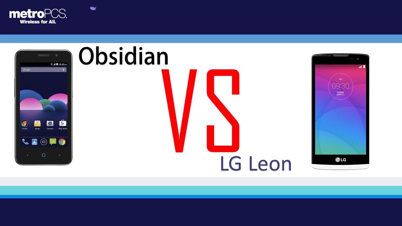 phone run zte obsidian vs lg leon Sunvell
