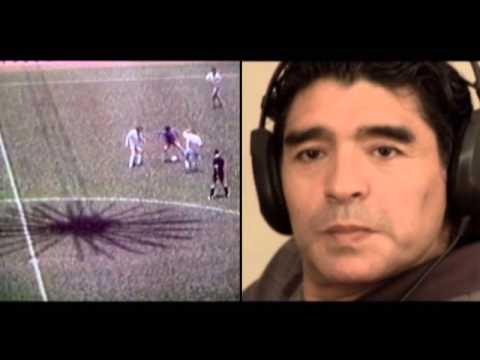 Víctor Hugo Morales relata el gol de Maradona a la selección de Inglaterra (1986)