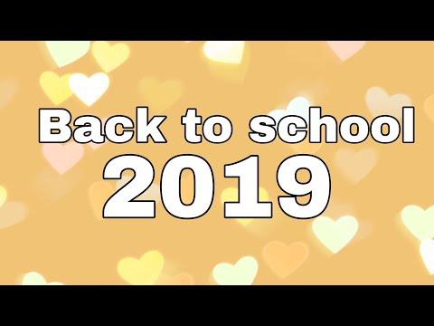 BACK TO SCHOOL 2019-иду в 9 класс!?