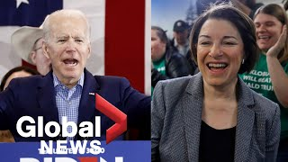 Gambar cover Nevada Caucus: Klobuchar, Biden react following Bernie Sanders projected win