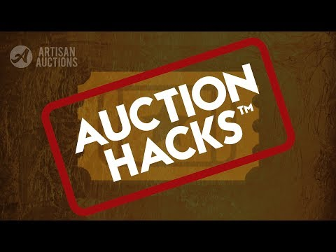 Auction Hacks™ - How To Win The Golden Ticket | Artisan Auctions