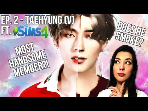 TAEHYUNG'S (V) STORY [+ The Sims 4 CAS]    From young farmer to biggest Kpop idol (+8 curiosities!)