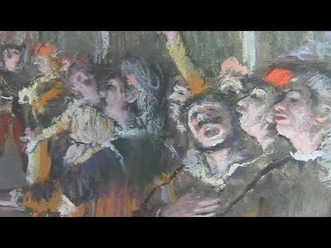 Degas roubado há nove anos encontrado na região de Paris